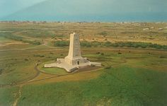 Wright Brothers Memorial postcard, Outer Banks NC