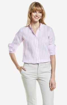 Różowa koszula damska LAMBERT DL61LB8351