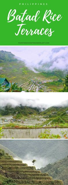Batad Rice Terraces | Ifugao, Philippines | Rice Terraces | Southeast Asia | Where to go in Philippines | UNESCO World Heritage Site | Asia Travel | Bucket list | Tourist attraction | It's more fun in the Philippines