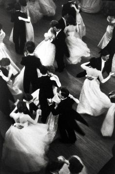 The Beauty of Dance: Queen Charlotte's Ball, London, England, 1959, Gelatin Silver Print  Henri Cartier-Bresson