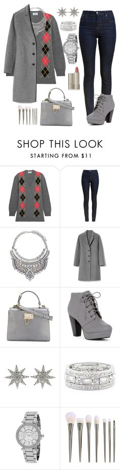 """""""Tons de cinza"""" by fashionfabulosa ❤ liked on Polyvore featuring Prada, Barbour, Gap, Dolce&Gabbana, Bee Goddess, Sole Society, Michael Kors and Ilia"""