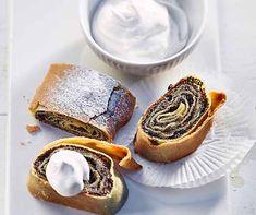 Apfeljalousien | Betty Bossi Profiteroles, Cheesecake, Eat, Breakfast, Desserts, Recipes, Food, Poppy, German