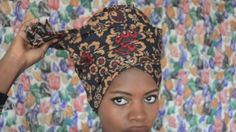Our Midnight Love headwrap is perfect for the badu inspired look! www.fanmdjanm.com