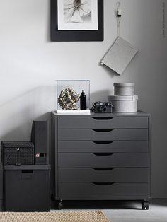 ALEX ladekast | #IKEA #IKEAnl #kast #grijs #interieur #inspiratie