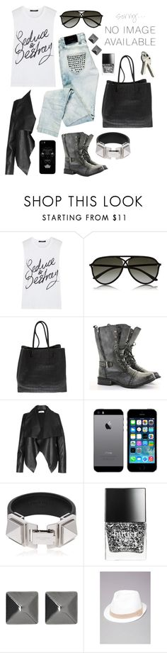 """""""""""Good girls are bad girls that haven't been caught."""" - 5 Seconds of Summer"""" by paradise-girl ❤ liked on Polyvore featuring Ksubi, Tom Ford, Alexander Wang, Bershka, CO, Yves Saint Laurent, Butter London, Witchery, Bebe and Again"""