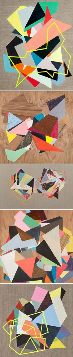 Tape and Paint Pictures -
