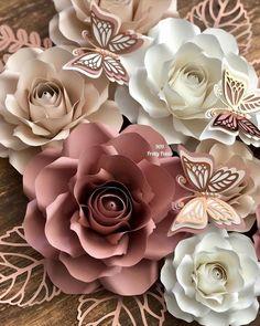 Instagram Roses, Paper Flower Backdrop, Paper Roses, Flower Decorations, Nursery Decor, Butterflies, Succulents, Paper Crafts, Decorating