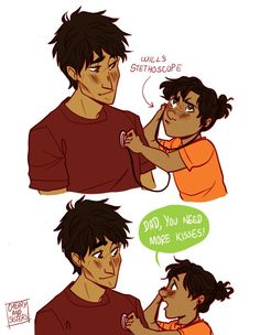 Nico and solangelo's child