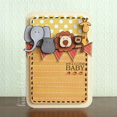 animal element would be adorable on baby scrapbook layout or zoo layout with toddlers could use create a critter cart