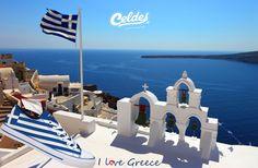We ❤️ Greece! If you do too, take yours at: http://celdes.com/all/88-greek-flag-greece.html #exploreceldes #exploretheworld #greece