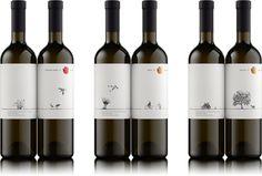 3D Visualisation of Wine Bottles Ruban on Behance
