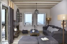 La Magnifica, luxury holiday villa on Tinos Island, a lesser known gem part of the Cyclades, in Greece.