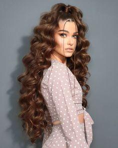 Big Curls Short Hair, How To Curl Short Hair, Long Curly Hair, Big Hair, Curly Hair Styles, Quince Hairstyles, Spring Hairstyles, Braided Hairstyles, Cool Hairstyles