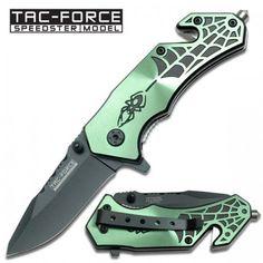 """Tac Force """"Spider"""" Spring Assist Knife Speedster Model"""