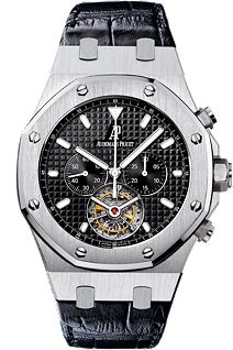 da77185a969 Click Image Above To Buy  Audemars Piguet Royal Oak Tourbillion Black Dial  Chronograph Mens Watch