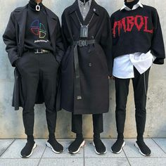 Same with these outfits . I wouldn't wear them but like appreciate if i saw someone else yknow. Edgy Outfits, Grunge Outfits, Grunge Fashion, Look Fashion, Cool Outfits, Fashion Outfits, Fashion Trends, Fashion Shoes, Sneakers Fashion