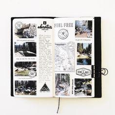 September. Day 17.  #melissagetscrafty #travelersnotebook #traveljournal #journal #write #tellyourstory #memorykeeping #scrapbooking #getoutside #camping #lodgepole #california