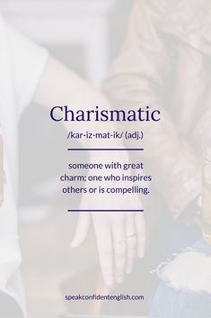 Do you work with anyone who is charismatic? Get 23 great adj… English Vocabulary. Do you work with anyone who is charismatic? Get 23 great adjectives to describe someone positively at www. Unusual Words, Rare Words, Unique Words, New Words, Cool Words, Adjectives To Describe Someone, Words To Describe People, Unique Adjectives, Adjective Words