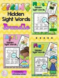 Sight Words {Spring