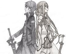 Real Feelings (Kirito and Asuna) by CaptainGhostly.deviantart.com on @deviantART