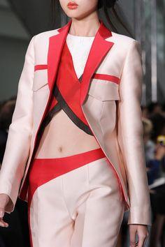 forlikeminded:  Antonio Berardi - London Fashion Week - Spring 2015
