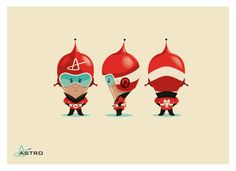 Astro! by Brandon Johnson, via Behance