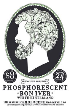 Phosphorescent & Bon Iver
