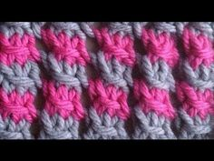 How to Knit a Two-Color Star Stitch by ThePatterfamily