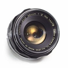 Canon 35mm F2.0 Wide Angle Prime LENS Leica LTM M39 Screw fit Rangefinder Japan
