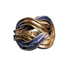 A beautiful ring,gold and lapis lazuli,Minoan,ca.1850-1550 BC.From the Aigina island treasure.British Museum Ioannis Tz (@tzoumio) | Twitter