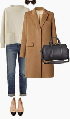 Classic Fall Wardrobe Staple - The Camel Coat