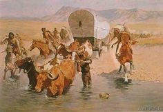 Frederic Remington - The Emigrants