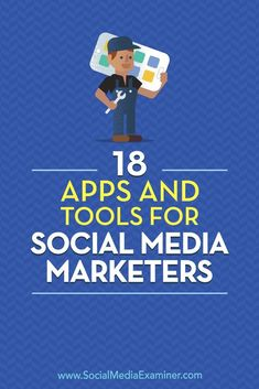 Wondering how to improve the visual and written content you produce?  Looking for a list of tools to help?  In this article, you��ll discover 18 helpful apps from the Social Media Marketing Podcast��s Discovery of the Week. #socialmediamarketing #socialmedi