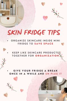When you have the best mini fridge on the market you might be asking what to do with it. Look no further. No matter which size mini fridge you have you can count on these tips to have the most successful skincare routine and long lasting mini fridge. Cool Mini Fridge, Fridge Cooler, Esthetician Supplies, Thing 1, Skin Care Tools, Makeup Essentials, Shelfie, Instagram Worthy, Makeup Storage
