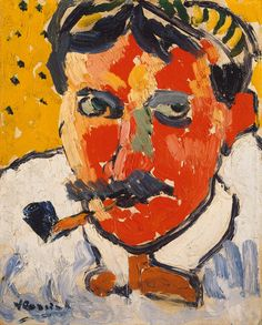 Maurice de Vlaminck, André Derain, 1906, Oil on canvas