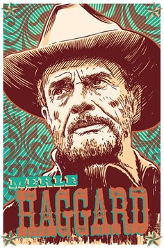 Bring home the original Outlaw of Country in this signed, high-quality digital print by the Red Robot. Part of the Icons of Music series. Unlike