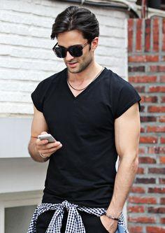 http://www.strunway.com/tops/tees/deep-v-neck-sleeveless-t-shirts.html