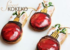 Galletas Navidad 2014 - Bolas de Navidad Christmas Cookies 2014 - Christmas Tree Balls http://www.sweetkokeko.com