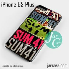 Sum 41 Phone case for iPhone 6S Plus and other iPhone devices
