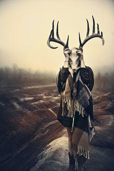 Cape Jacket & Antlers ~ One Teaspoon