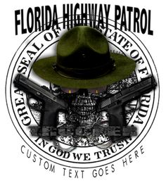 Florida Highway Patrol Trooper Shirt $19.95