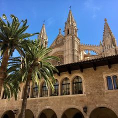 """19 Likes, 1 Comments - Staci Richardson (@seickert1) on Instagram: """"Almudiana Royal Palace, Palma de Majorca, Spain... with the Cathedral in the background! #almudiana…"""""""