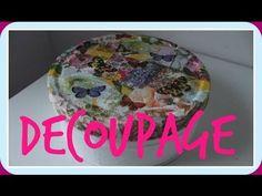 Cómo aprovechar tus restos de servilletas - Decoupage estilo Patchwork -...