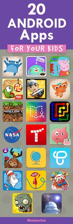 20 Best Android Apps For Your Kids: 20 of the best Android applications for your kid. Check them out below.
