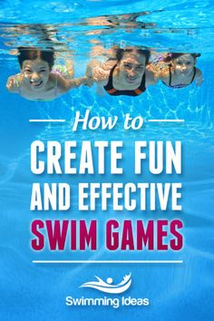 Swim Lesson Games | Swimming Lessons Ideas
