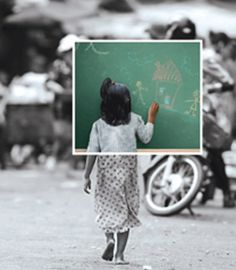 Let's pray that every child is in school by #2015