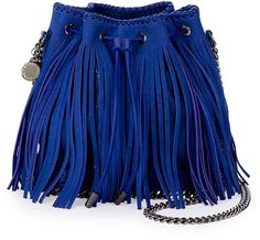 Falabella Small Fringe Bucket Bag. We simply can't get enough of this.