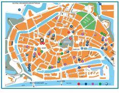 """wandeling """"sprekende gevels"""" door Middelburg"""