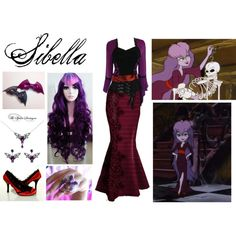 Scooby Doo and the Ghoul School: Sibella by mangerlecole on Polyvore featuring polyvore, fashion, style and clothing