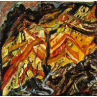 View overlooking Ceret 1933 Chaim Soutine BMA